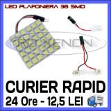BEC AUTO LED LEDURI PLACUTA PLAFONIERA - 36 SMD - SOFIT FESTOON C5W C10W T10 W5W