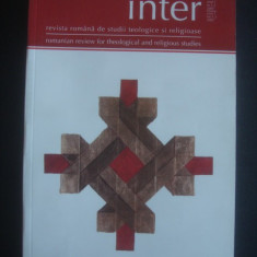INTER - REVISTA ROMANA DE STUDII TEOLOGICE SI RELIGIOASE ANUL I, NR 1-2, 2007