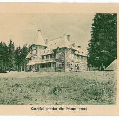 911 - Bukowina, Suceava, ITSCANI, CASTELUL, Campulung Moldovenesc - old postcard - unused - Carte Postala Bucovina 1904-1918