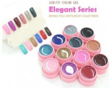 Geluri colorate set gel lampa uv color 12 culori  CANNI Elegant Series
