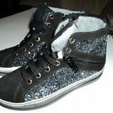 Pantofii Copii Melania , Noi in Cutie !!! Marimea 31, Fete, Negru