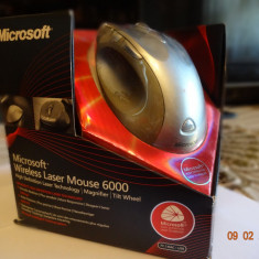 Mouse Microsoft Wireless Laser 6000, 1000-2000