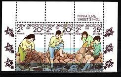 Noua Zeelanda 1981 -  cat.nr.828-30 neuzat,perfecta stare