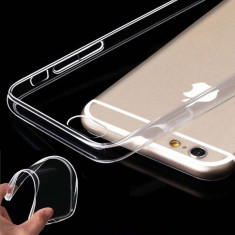Husa iPhone 6 6S TPU 0.3mm Transparenta - Husa Telefon Apple, Gel TPU, Fara snur, Carcasa