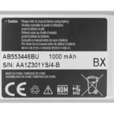 Acumulator Samsung originala swap AB553446B/AB553446BA / AB553446BE / AB553446BU, Li-ion, 1000mAh/3, 7Wh