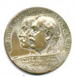 MEDALIE ZIARUL UNIVERSUL LUIGI CAZZAVILLAN STELIAN POPESCU 1884-1993 ISTORIE PRESA PERIOADA REGALISTA