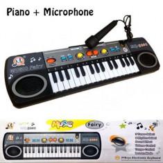 Orga cu microfon pentru copii Music Fairy - Instrumente muzicale copii