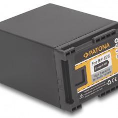 1 PATONA | Acumulator compatibil Canon BP-828 BP828 | BP-827 BP827 BP-808 BP-820 - Baterie Aparat foto PATONA, Dedicat