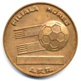 MEDALIE EXPOZITIA FILATELICA AFR MURES 1982 EL MUNDIAL ISTORIE NUMISMATICA PACE - Medalii Romania