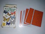 Pachet 54 de carti de joc, Butterflys of the world, cu tematica lepidoptere, fluturi