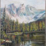 Peisaj muntos - semnat  R.Gohler