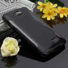 Husa LG F60 TPU S-LINE Black - Husa Telefon LG, Negru, Gel TPU, Fara snur, Carcasa