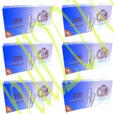 6x TUBURI CLUB ELEGANT 1200 tuburi, filtre tigari/cutie pt injectat tutun/tabac