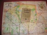 Planul Unirea - Municipiul Bucuresti si imprejurimile + 2 planse atasate