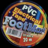 Banda izolatoare FootMark 20 metri diverse culori banda izoliera