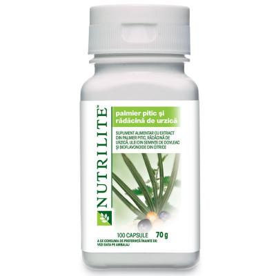 NUTRILITE™ Palmier pitic şi rădăcină de urzică  100 capsule foto