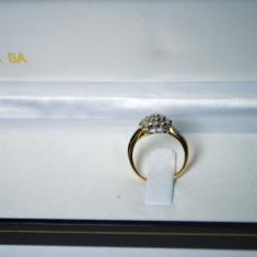 INEL AUR 18K CU DIAMANTE - Inel diamant, Culoare: Galben, 46 - 56