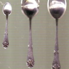 lingurite din argint - 36 grame deosebite