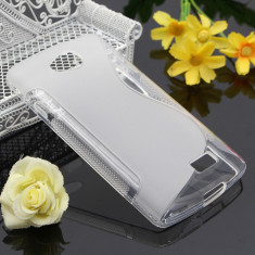 Husa LG F60 TPU S-LINE Transparenta - Husa Telefon LG, Gel TPU, Fara snur, Carcasa