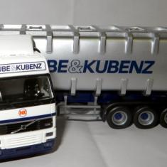 Herpa VOLVO FH12 container Kube & Kubenz 1:87 - Macheta auto