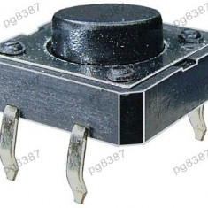 Push buton 12x12mm, inaltime 5mm - 124401