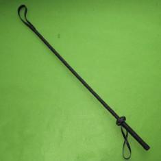 Padela Cravasa Bici Fetish Bondage Whip Domina 70cm Piele Eco Spanking BDSM