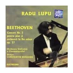 Radu Lupu Beethoven Concertul nr 3 pentru pian si orchestra in Do minor op 37 - Muzica Clasica electrecord, CD