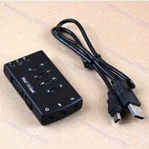 Placa sunet externa pe USB cu LINE IN