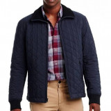 Geaca Armani Exchange Quilted Jacket masura M si L (ultima colectie) - Geaca barbati, Marime: M, L, Culoare: Albastru