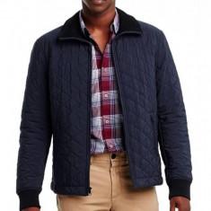 Geaca Armani Exchange Quilted Jacket masura M si L (reducere finala) - Geaca barbati, Marime: M, L, Culoare: Albastru
