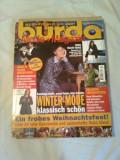 REVISTA MODA ~ BURDA  Nr. 12/1998 ( cu tipare + insert cu traducerea in limba romana a revistei )