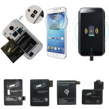 Receiver QI Incarcator wireless Galaxy S34 5 si Note23 4, Extern,iPhone56,Type C