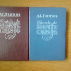 E0 Contele de Monte Cristo - Al. Dumas ( 2 volume) -ca noi, cartonate, - Roman, Anul publicarii: 1992