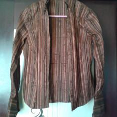 Camasa dama FRANCE-MOROCCO - dungata stil brodat, Marime: 38, Culoare: Negru