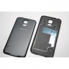 Capac Samsung S5 ORIGINAL negru G900 G900F carcasa baterie