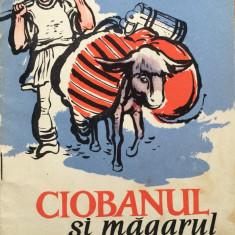CIOBANUL SI MAGARUL - Anton Pann - Carte poezie copii