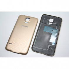 Capac Samsung Galaxy S5 G900 G900F original alb,negru,albastru si auriu