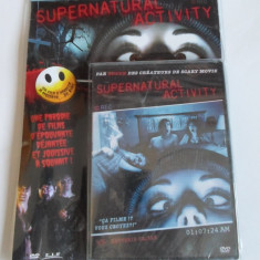 Supernatural Activity - film comedie / parodie (NOU), DVD, Franceza