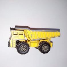 Macheta Matchbox Superfast - Faun Dump Truk - 1976 NR. 58 - Macheta auto