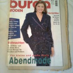 REVISTA MODA ~ BURDA  Nr. 11/1995 ( cu tipare + insert cu traducerea in limba romana a revistei )