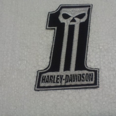Patch Broderie Harley Davison nr.1