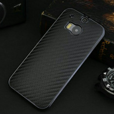 Carcasa HTC ONE M8 textura carbon