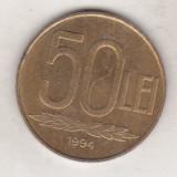Bnk mnd romania 50 lei 1994 - Moneda Romania