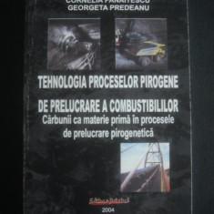CORNELIA PANAITESCU, GEORGETA PREDEANU - TEHNOLOGIA PROCESELOR PIROGENE DE PRELUCRARE A COMBUSTIBILILOR - CARBUNII CA MATERIE PRIMA IN PROCESELE DE