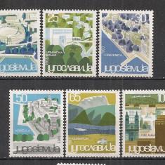 Iugoslavia.1963 Statiuni turistice SI.335 - Timbre straine
