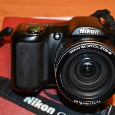 Vand aparat foto Nikon Coolpix L100, geanta + card de 4 Gb - Secure digital (SD) card