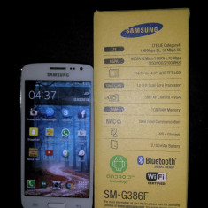 Samsung Galaxy Core 4G LTE 8GB White - Telefon mobil Samsung Galaxy Core, Alb, Neblocat, Single SIM