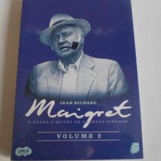 Film de colectie: MAIGRET - Volume 2 : Jean Richard (Nou, Sigilat) - Film Colectie, DVD, Franceza