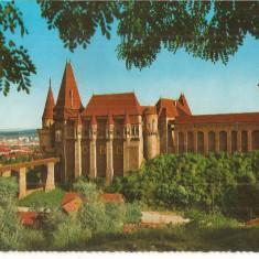CPI (B5010) HUNEDOARA, CASTELUL CORVINESTILOR, KRUGER, NECIRCULATA - Carte Postala Muntenia dupa 1918, Fotografie