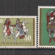 Iugoslavia.1963 Arta SI.340 - Timbre straine
